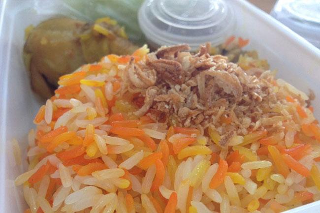 อาหารฮาลาล ลงกล่อง